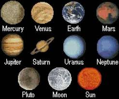 solar system sler cross stitch pattern slers