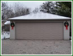 backyards garage christmas decorations garage1 outdoor holiday