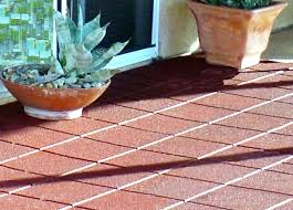 Recycled Rubber Patio Pavers Environmental Molding Concepts Emc Rubber Flooring Paver Tiles