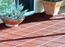 Outside Tile For Patio Environmental Molding Concepts Emc Rubber Flooring Paver Tiles