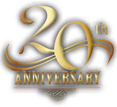 20 year anniversary gifts for 20th anniversary clipart
