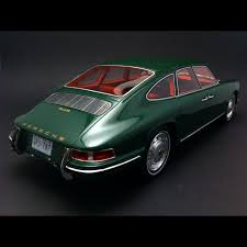 porsche 911 dark green porsche 911 sedan 1967 green 1 18 bos 193566 selection rs