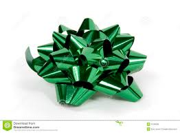 christmas present bows christmas bow in green stock photo image of isolated 1530096