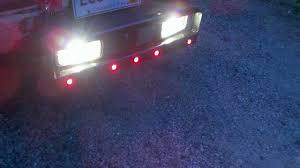 reverse lights from trailer plug plowsite