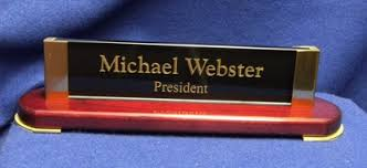 Name Plates For Office Desk Prestige Desk Name Plates