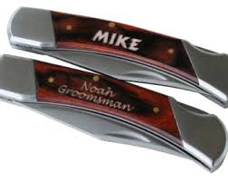 personalized knives groomsmen personalized steak knives steak knife set groomsmen gift