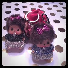 Baby Keychains Boutique 2 Cute Monchhichi Baby Keychains From Barb Party Host