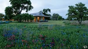 Home Decor Midland Tx by Laura And George W Bush U0027s Serene Retreat In Texas Architectural