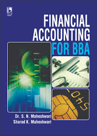financial accounting for bba by dr s n maheshwari