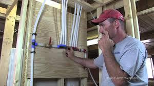 how to cut u0026 install wirsbo aquapex pex water tubing youtube