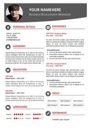 single page resume template one page resume template free one page resume template free