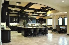 houzz com black kitchen cabinets and cream floor tiles home design ideas