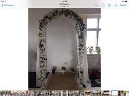 wedding arches gumtree white wedding arch garden arch in whitley bay tyne and wear