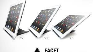 facet pyramid ipad stand by ilovehandles u2014 kickstarter