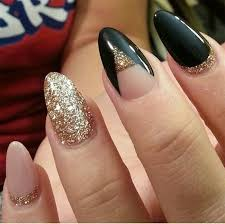 american manicure acrylic nails gold design nail designs