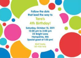 polka dots invitations polka dot party planning ideas supplies baby showers