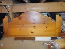double pine headboard ebay