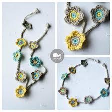 crochet necklace patterns images Crochet necklace tutorial diy real jpg