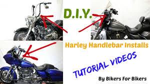 Harley Davidson Patio Lights by Install Aftermarket Handlebar Or Ape Hangers On Harley Davidson