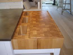 food prep brooks custom kitchen countertops maple end grain food prep station end grain bamboo butcher block