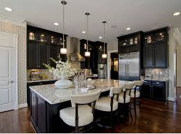 black kitchen decorating ideas black and white kitchen decor interior lighting design ideas bunch