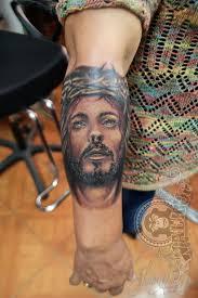 rostro jesus jesus face tattoo work tattoo walkup pinterest