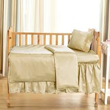 22 momme silk crib bedding set