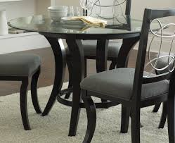plain design round glass top dining tables best glass kitchen