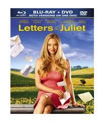 amazon com letters to juliet blu ray dvd amanda seyfried