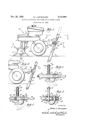 patent us3111996 quickly adjustable drag stake for a rotary