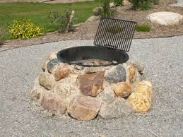 garden appropriate design of fire pit ideas stone outdoor