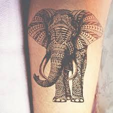 simple cool elephant tattoo design golfian com