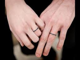 wedding ring tattoos 35 the best wedding ring ideas