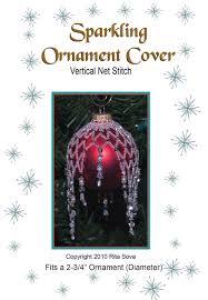 sparkling ornament cover sova enterprises