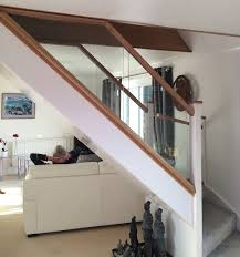 Glass Banister Uk Abbott Wade Diminishing Glass Balustrades Make The Most Of Limited