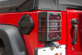 rugged ridge elite tail light guards rugged ridge elite tail light guards