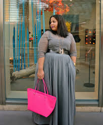 Plus Size Clothes For Girls Today Was Casual And Comfy For Me With This Monochromatic Eshakti