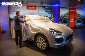 suv porsche 2015 in pictures 2015 porsche cayenne launch at porsche centre lebanon