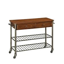 the orleans kitchen island the orleans caramel wood kitchen cart by home styles free
