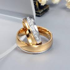 titanium wedding ring sets engraved his and hers titanium wedding rings set for 2