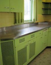 Painted Metal Kitchen Cabinets Vintage English Rose Metal Kitchen Cabinets From Spitfires To