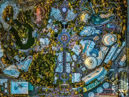 Disney California Adventure Map Magical Aerial Images Show A Sky View Of Disneyland And Disney