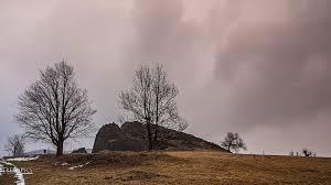 s chsische k che wallpaper landscape hill nature snow winter road