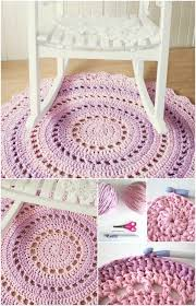 Crochet Doormat 30 Magnificent Diy Rugs To Brighten Up Your Home Diy U0026 Crafts