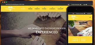 review ja charity responsive joomla template for churches