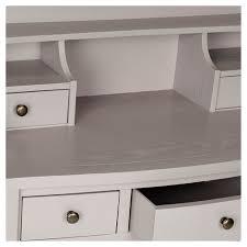 safavieh landon writing desk white landon writing desk gray safavieh target