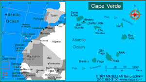 cape verde map world welcome to cape verde