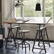 Drafting Table Lamps by Mad About Industrial Chic Key Note And Large Lamps