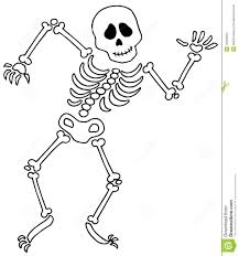 halloween skeleton template simple skeleton clipart free clip art images freeclipart pw