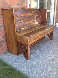 How To Repurpose Piano Benches by Old Piano Upcycled Into Seat For Outside My Home Upcycled